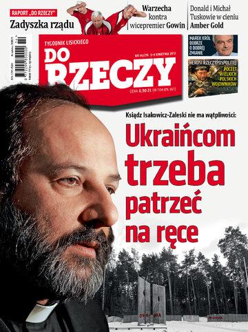 """Okładka tygodnika """"Do Rzeczy"""", wydanie nr 14/2017 (216)"""