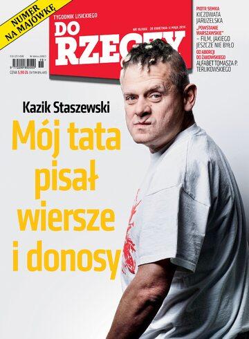 """Okładka tygodnika """"Do Rzeczy"""", wydanie nr 18/2014 (66)"""
