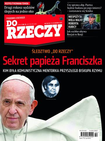 """Okładka tygodnika """"Do Rzeczy"""", wydanie nr 50/2019 (352)"""