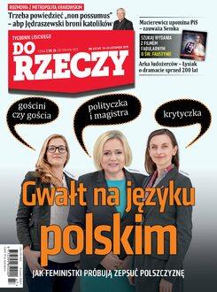 Tygodnik Do Rzeczy 47/2019 - Okładka