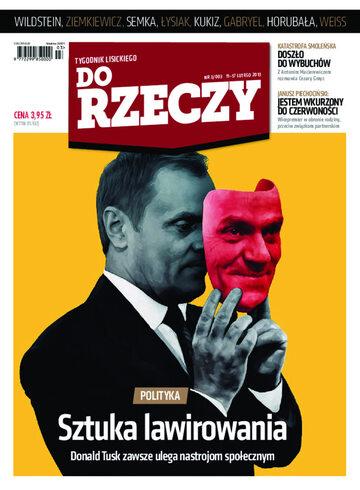 """Okładka tygodnika """"Do Rzeczy"""", wydanie nr 3/2013 (3)"""