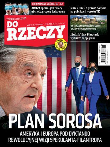 """Okładka tygodnika """"Do Rzeczy"""", wydanie nr 5/2021 (410)"""