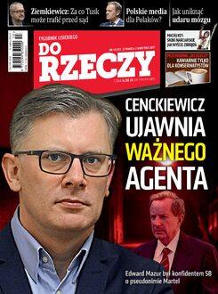 Tygodnik Do Rzeczy 13/2017 - Okładka