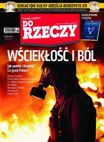 """Okładka tygodnika """"Do Rzeczy"""", wydanie nr 9/2014 (57)"""