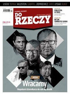 Tygodnik Do Rzeczy 1/2013 - Okładka