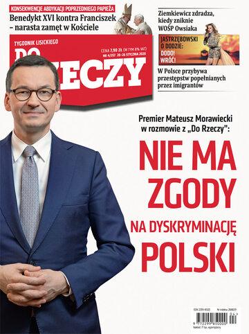 """Okładka tygodnika """"Do Rzeczy"""", wydanie nr 4/2020 (357)"""