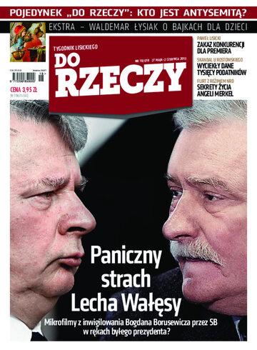 """Okładka tygodnika """"Do Rzeczy"""", wydanie nr 18/2013 (18)"""