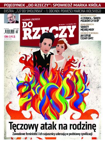 """Okładka tygodnika """"Do Rzeczy"""", wydanie nr 19/2013 (19)"""