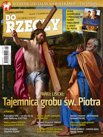 """Okładka tygodnika """"Do Rzeczy"""", wydanie nr 16/2019 (319)"""