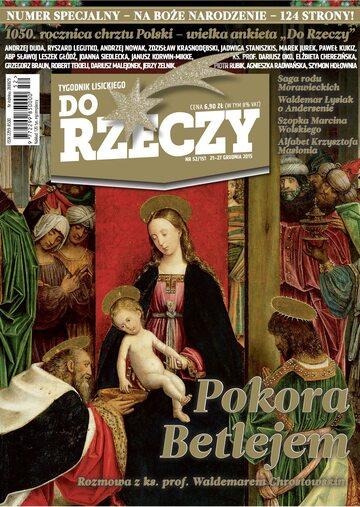 """Okładka tygodnika """"Do Rzeczy"""", wydanie nr 52/2015 (151)"""