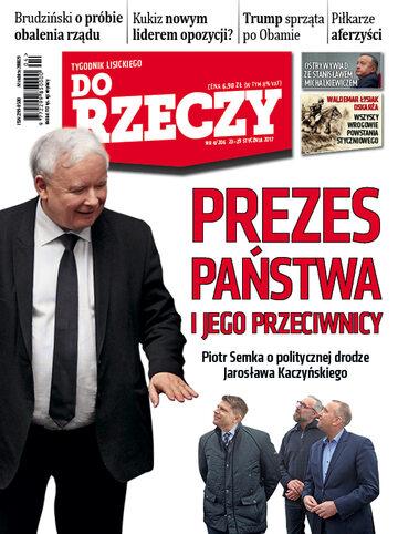 """Okładka tygodnika """"Do Rzeczy"""", wydanie nr 4/2017 (206)"""
