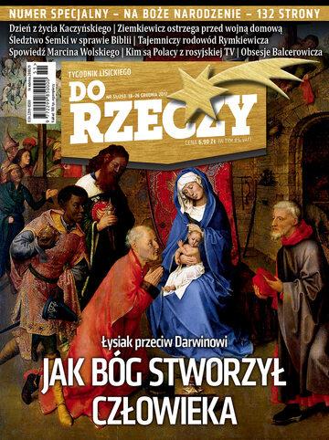 """Okładka tygodnika """"Do Rzeczy"""", wydanie nr 51/2017 (253)"""