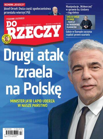 """Okładka tygodnika """"Do Rzeczy"""", wydanie nr 27/2021 (432)"""