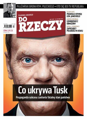 """Okładka tygodnika """"Do Rzeczy"""", wydanie nr 17/2013 (17)"""