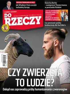 Tygodnik Do Rzeczy 43/2020 - Okładka