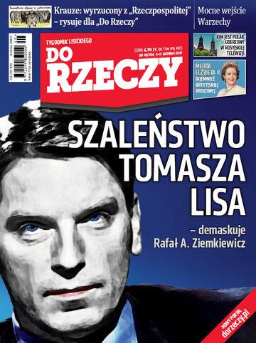 """Okładka tygodnika """"Do Rzeczy"""", wydanie nr 49/2016 (200)"""