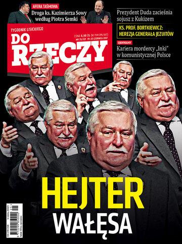 """Okładka tygodnika """"Do Rzeczy"""", wydanie nr 25/2017 (227)"""