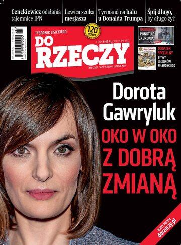 """Okładka tygodnika """"Do Rzeczy"""", wydanie nr 5/2017 (207)"""