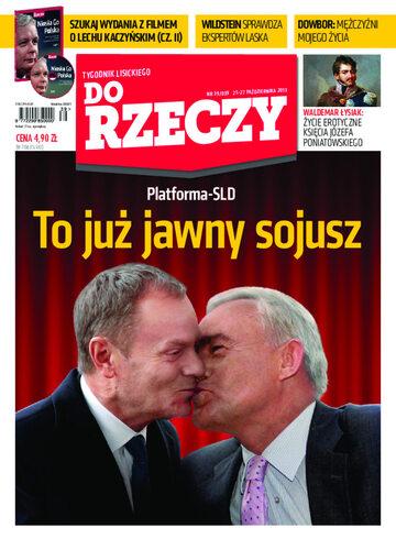"""Okładka tygodnika """"Do Rzeczy"""", wydanie nr 39/2013 (39)"""