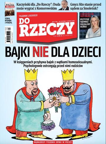 """Okładka tygodnika """"Do Rzeczy"""", wydanie nr 05/2015 (104)"""