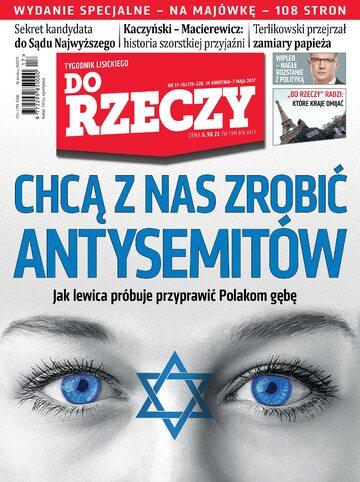 """Okładka tygodnika """"Do Rzeczy"""", wydanie nr 17-18/2017 (219)"""