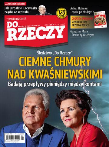"""Okładka tygodnika """"Do Rzeczy"""", wydanie nr 22/2018 (274)"""