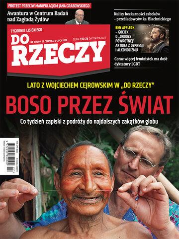 """Okładka tygodnika """"Do Rzeczy"""", wydanie nr 27/2020 (380)"""