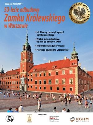 50-lecie odbudowy Zamku Królewskiego w Warszawie