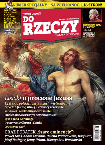 """Okładka tygodnika """"Do Rzeczy"""", wydanie nr 16/2014 (64)"""