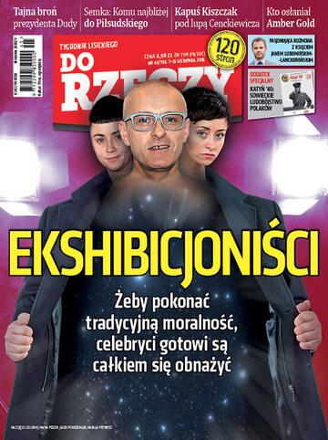 """Okładka tygodnika """"Do Rzeczy"""", wydanie nr 45/2016 (196)"""