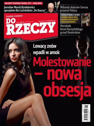 """Okładka tygodnika """"Do Rzeczy"""", wydanie nr 46/2017 (248)"""