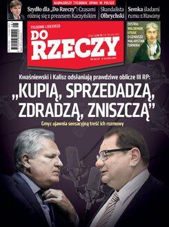 Tygodnik Do Rzeczy 28/2015 - Okładka