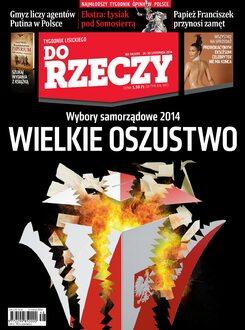 Tygodnik Do Rzeczy 48/2014 - Okładka