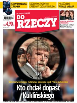 Tygodnik Do Rzeczy 7/2014 - Okładka