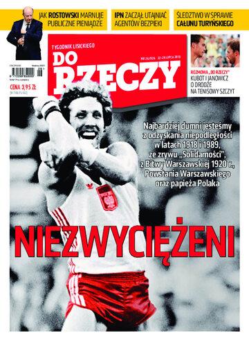 """Okładka tygodnika """"Do Rzeczy"""", wydanie nr 26/2013 (26)"""