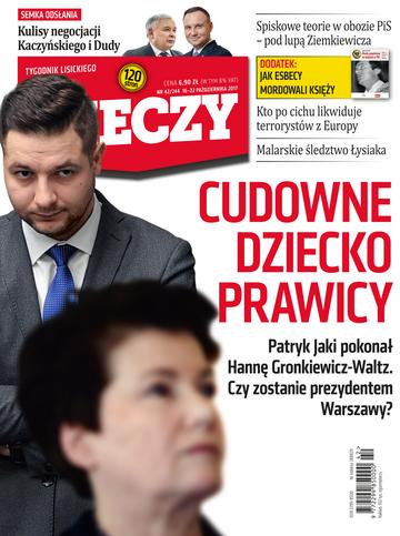 """Okładka tygodnika """"Do Rzeczy"""", wydanie nr 42/2017 (244)"""