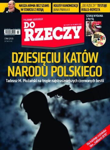 """Okładka tygodnika """"Do Rzeczy"""", wydanie nr 11/2014 (59)"""