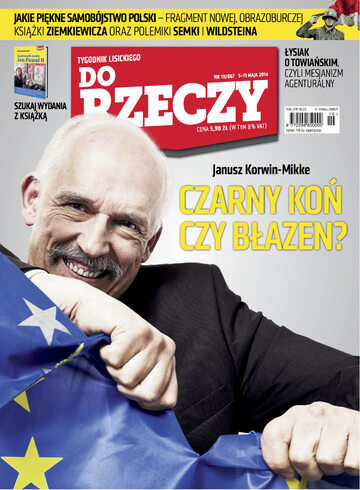 """Okładka tygodnika """"Do Rzeczy"""", wydanie nr 19/2014 (67)"""