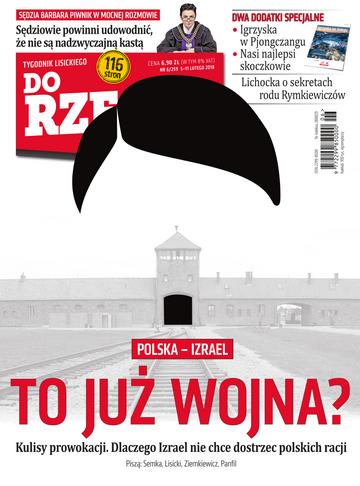 """Okładka tygodnika """"Do Rzeczy"""", wydanie nr 6/2018 (259)"""
