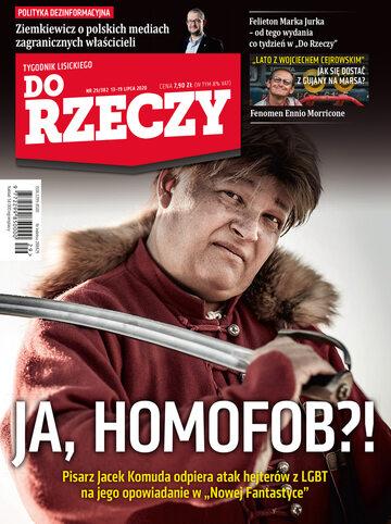 """Okładka tygodnika """"Do Rzeczy"""", wydanie nr 29/2020 (382)"""