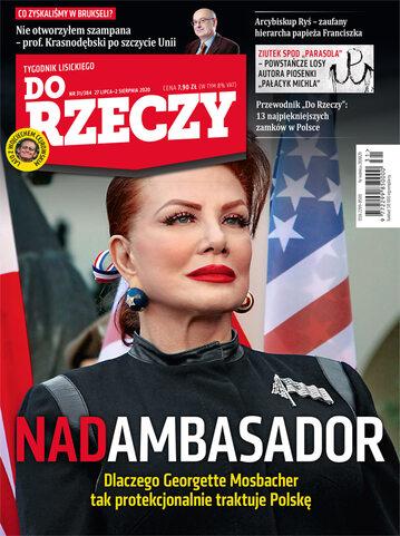 """Okładka tygodnika """"Do Rzeczy"""", wydanie nr 31/2020 (384)"""