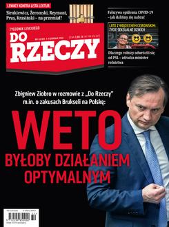 Tygodnik Do Rzeczy 32/2020 - Okładka
