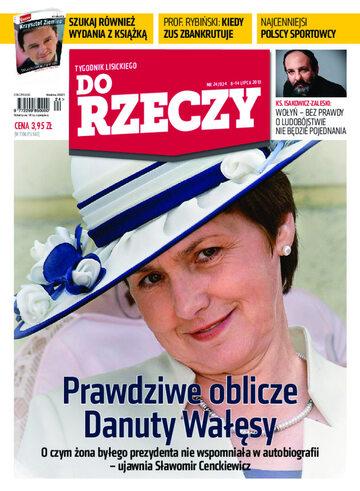 """Okładka tygodnika """"Do Rzeczy"""", wydanie nr 24/2013 (24)"""
