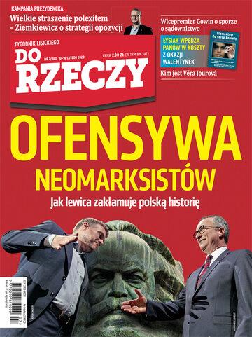 """Okładka tygodnika """"Do Rzeczy"""", wydanie nr 7/2020 (360)"""