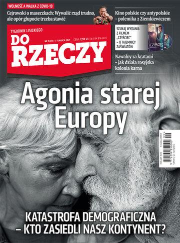 """Okładka tygodnika """"Do Rzeczy"""", wydanie nr 9/2021 (414)"""