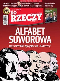 Tygodnik Do Rzeczy 47/2014 - Okładka