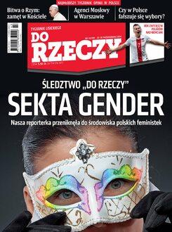 Tygodnik Do Rzeczy 43/2014 - Okładka
