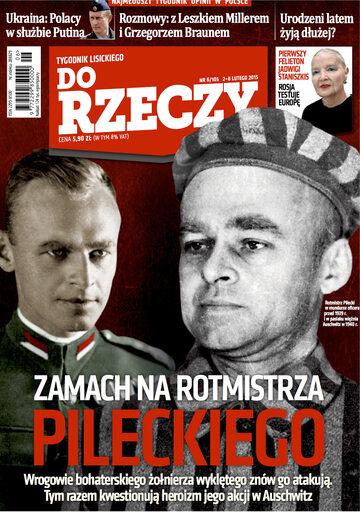 """Okładka tygodnika """"Do Rzeczy"""", wydanie nr 6/2015 (105)"""