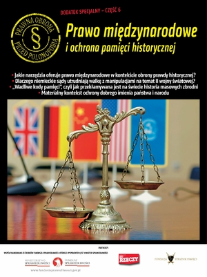 Prawo międzynarodowe i ochrona pamięci historycznej