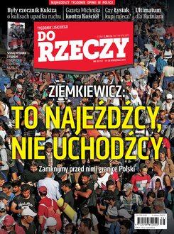 Tygodnik Do Rzeczy 38/2015 - Okładka
